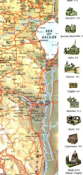 Map of Israel No.3