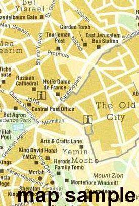 Modern Jerusalem Map #9
