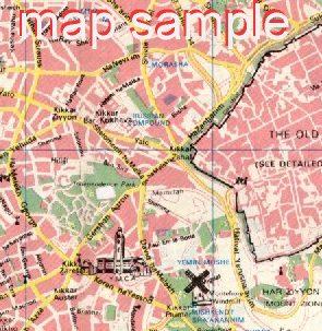 Modern Jerusalem Map #10