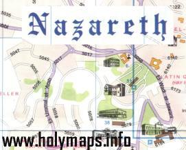Nazareth visitor map No.1